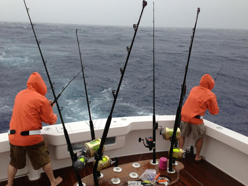 Rainy Fishing Report