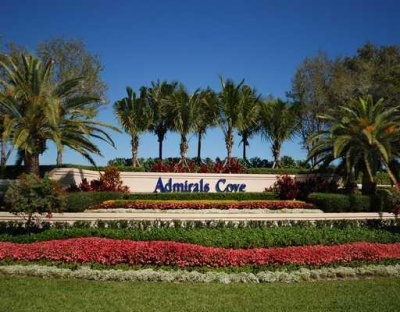 Admirals Cove Entrance Sign