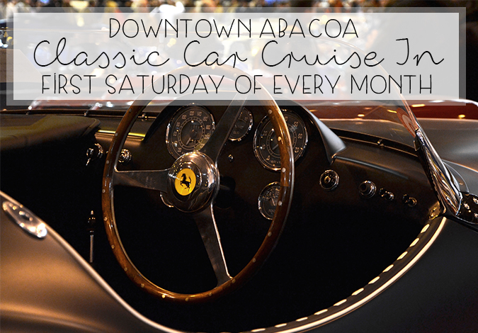 The Abacoa Town Center Classic Car Cruise-In