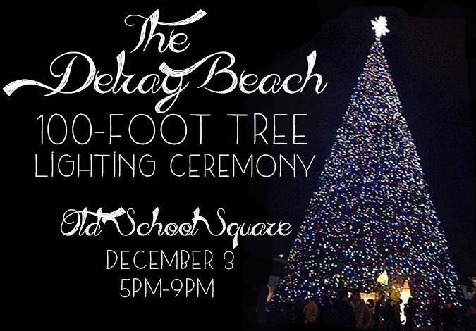 Delray Beachs 100Foot Tree Lighting