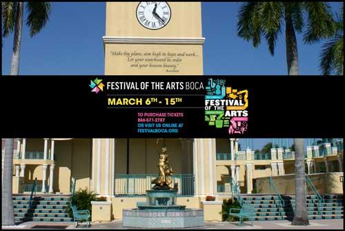 Festival Of The Arts Boca At Mizner Park
