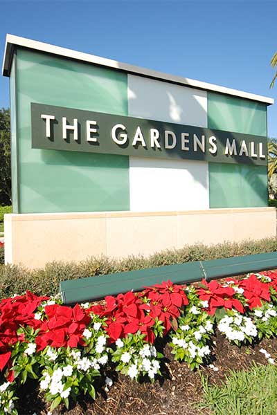 The Gardens Mall In Palm Beach Gardens Fl
