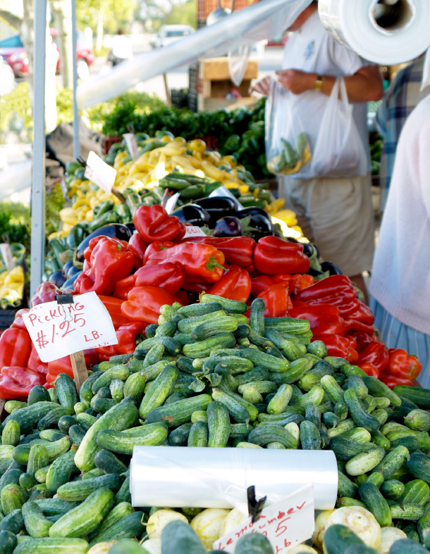 SUMMER GREEN MARKET IN WEST PALM BEACH
