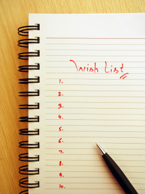 Dream home wish list for Home wish list