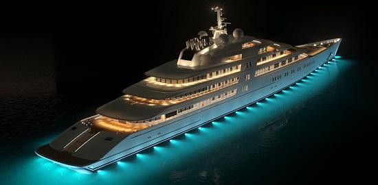 Super Yacht Azzam