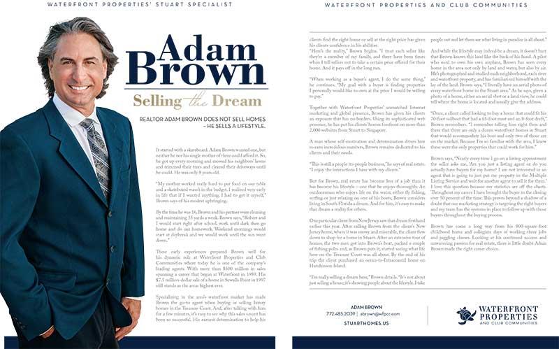 Adam Brown - Selling the Dream