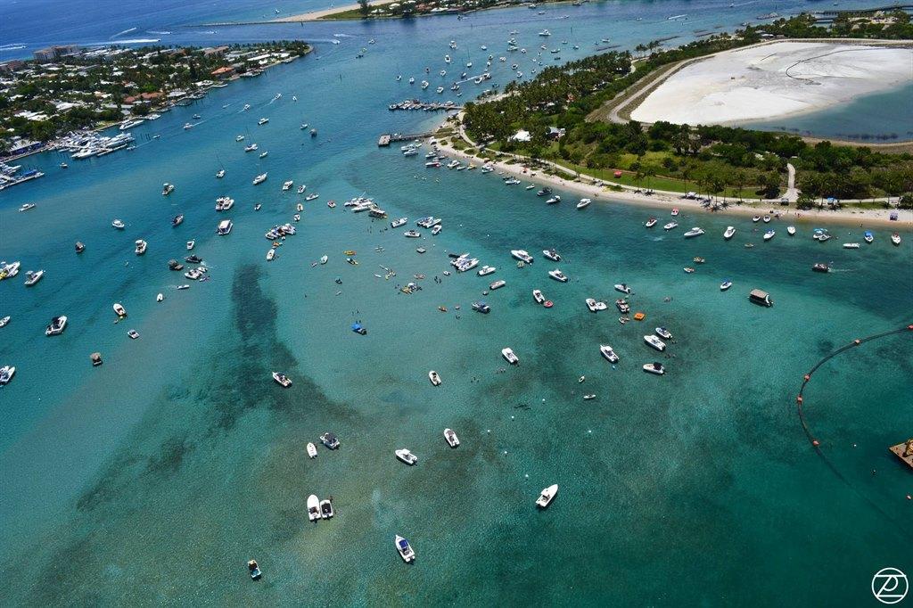 Peanut Island Aerial
