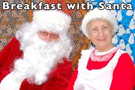 Have Breakfast with Santa!