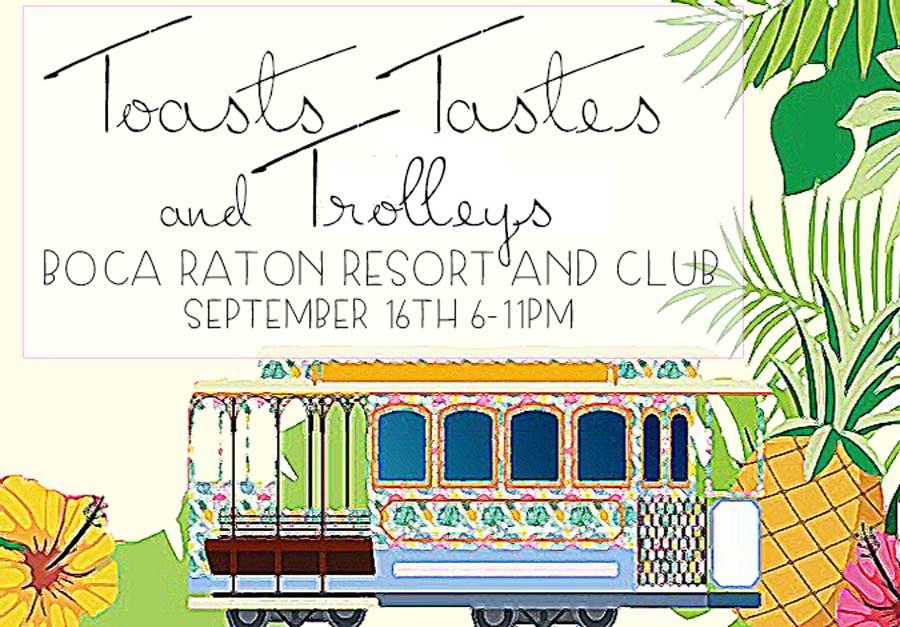 Toasts, Tastes and Trolleys.